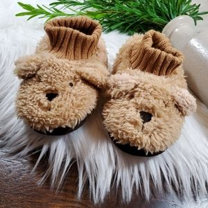 Baby Gap Puppy Slippers | sz 5/6 | NWOT | cream